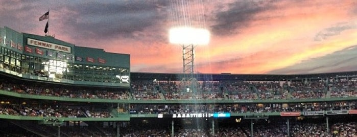 Fenway Park is one of MLB Ballparks.