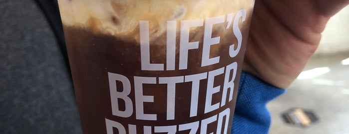 Better Buzz Coffee is one of Nice gems outside.