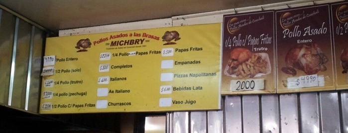 Pollos Michbry is one of Lugares favoritos de Sebastian.