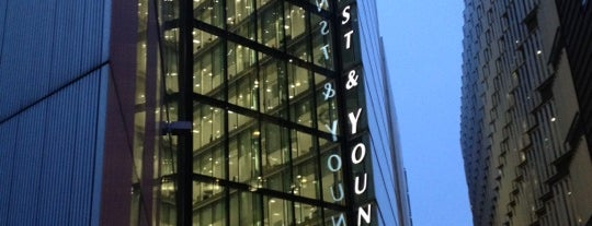 Ernst & Young LLP is one of Tom's Liked Places.
