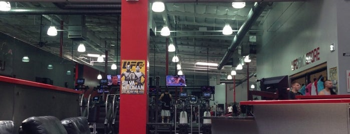UFC Gym is one of Orte, die Andre gefallen.