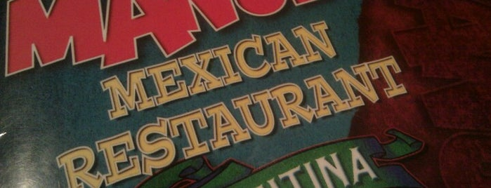 Manuel's Mexican Resturant is one of Anthonyさんのお気に入りスポット.