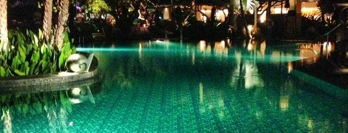 Shangri-La Hotel, Bangkok is one of Posti che sono piaciuti a Prim Patsatorn.
