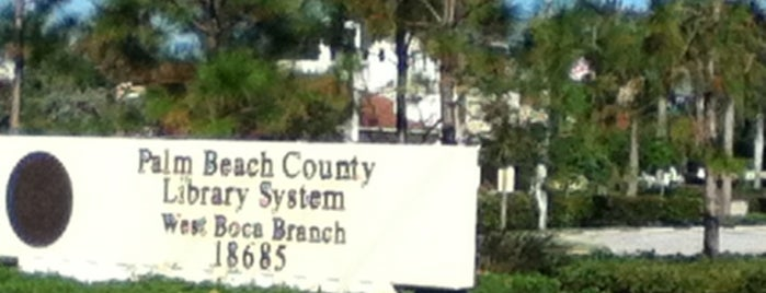 Palm Beach County Library System is one of Todd : понравившиеся места.