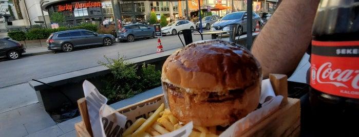 Burger X is one of Lieux qui ont plu à Güneş.