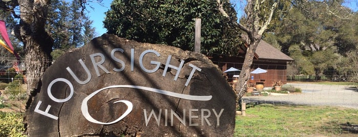 Foursight Wines is one of Anderson Valley wineries.