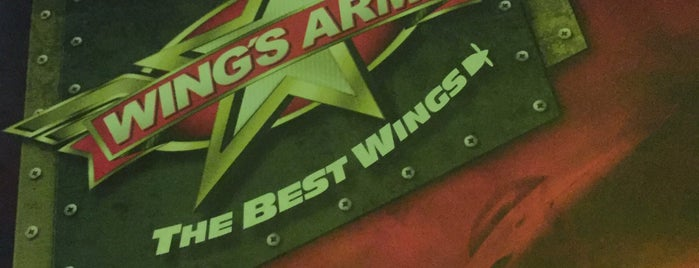 wing's army plaza las americas is one of Maríaさんのお気に入りスポット.