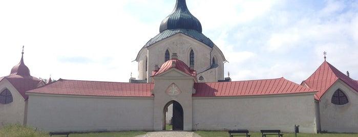 Poutní kostel sv. Jana Nepomuckého na Zelené hoře is one of UNESCO World Heritage Sites in Eastern Europe.