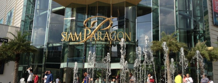 Siam Paragon is one of BKK - REP - HKT.