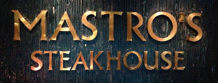 Mastro's Steakhouse is one of Los Angeles.