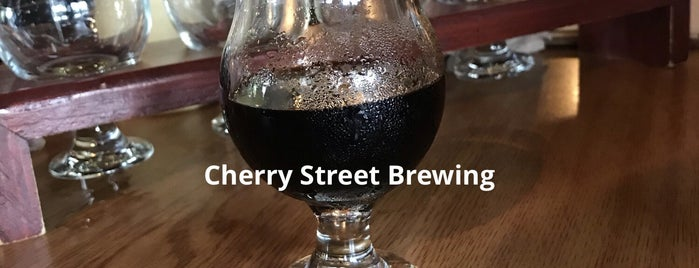 Cherry Street Taproom is one of Breweries or Bust 2.