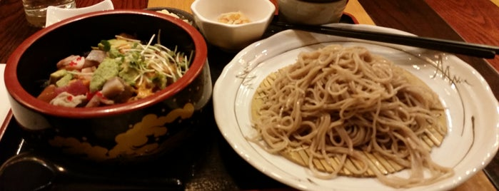 Soba Totto is one of Allison 님이 저장한 장소.