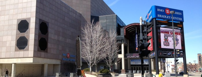 BMO Harris Bradley Center is one of NBA Stadiums.