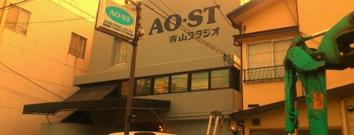 青山スタジオ is one of Lieux qui ont plu à モリチャン.