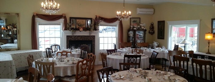 White Linen Tea House And Gifts is one of WNY Restaurants.