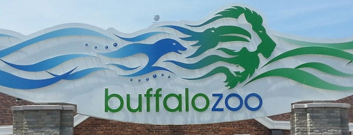 Buffalo Zoo is one of Buffalo.