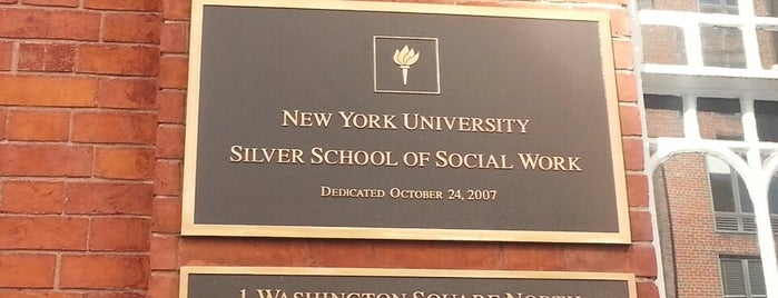 NYU Silver School of Social Work is one of Printing Around NYU.