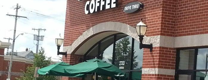 Starbucks is one of Regular Haunts.