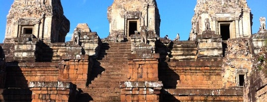Pre Rup is one of Angkor Archaeological Park Highlights.