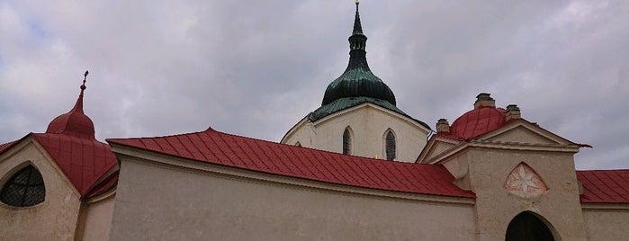 Poutní kostel sv. Jana Nepomuckého na Zelené hoře is one of Check this Paja's list.