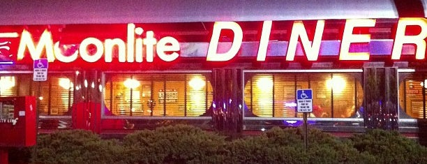 Moonlite Diner is one of Miami.
