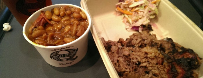 Mighty Quinn's BBQ is one of Solid Places.