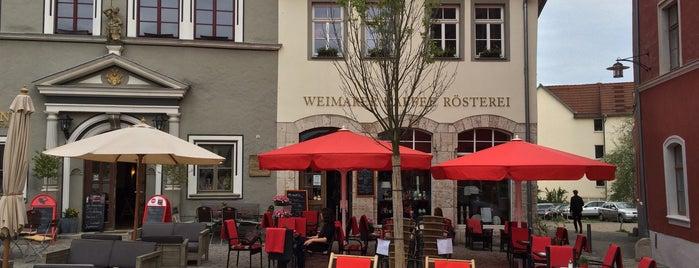 Weimarer Kaffee Rösterei is one of Stefanie : понравившиеся места.