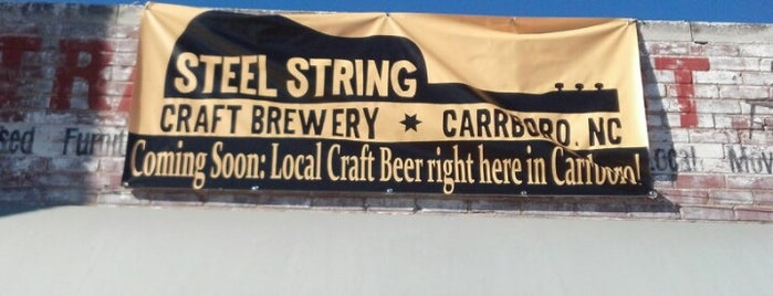 Steel String Brewery is one of Triangle Area Breweries.