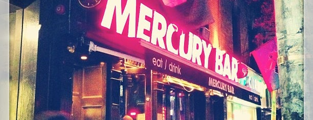 Mercury Bar is one of 200+ Bars to Visit in New York City.