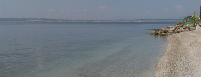 Omorika Beach is one of Crikvenica.