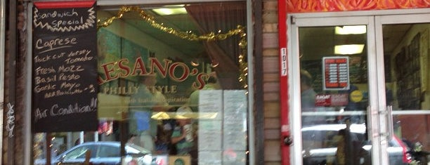 Paesano's Philly Style is one of Philadelphia's Best Sandwich Places - 2013.