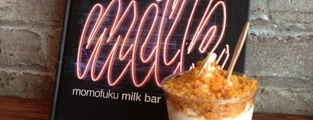 Momofuku Milk Bar is one of WB.