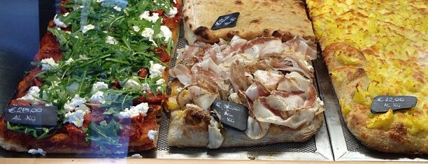 Pizzarium Bonci is one of Italy.