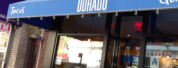 Dorado Tacos is one of NY Eats.