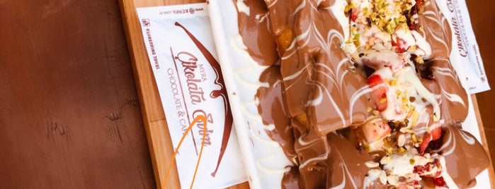 Cikolata Evim is one of Tempat yang Disukai Fatih.