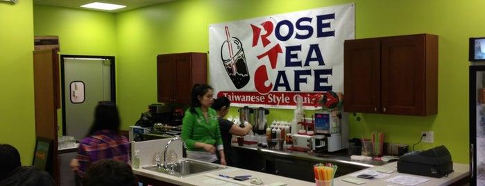 Rose Tea Cafe is one of Locais salvos de Luna La.