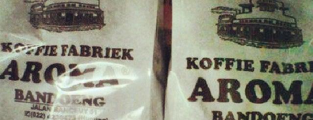 Koffie Fabriek Aroma is one of My Hometown.