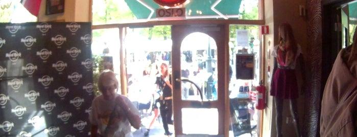 hard rock café shop is one of Norsk.