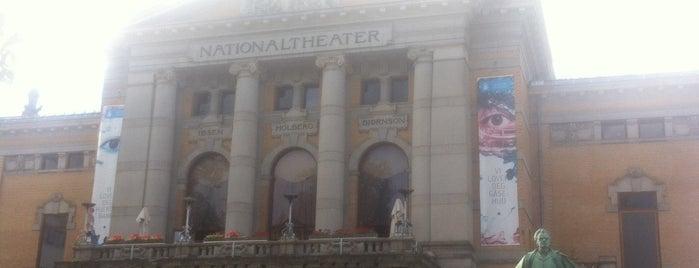 Норвежский национальный театр is one of Norsk.