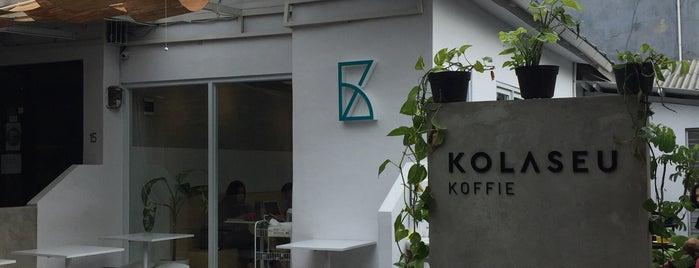 Kolaseu Kopi is one of PANG ! PAgi NGopi Bandung.
