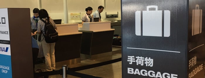ANA Check-in Counter is one of Tokyo 2019.