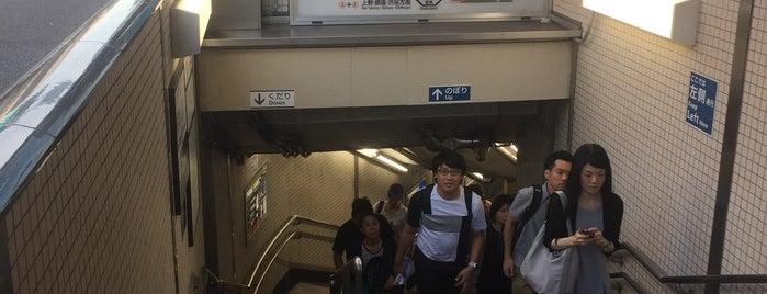 Tawaramachi Station (G18) is one of Tokyo 2019.