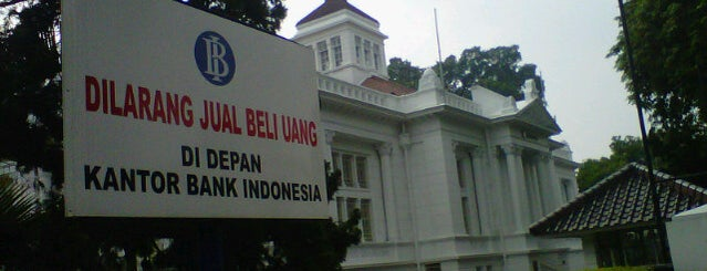 Bank Indonesia is one of My Hometown.