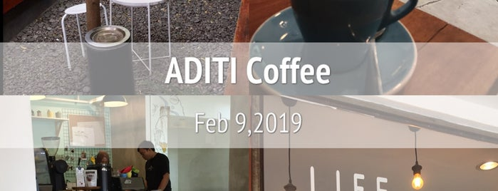 ADITI COFFEE is one of Bandung Coffee Directory 2018.