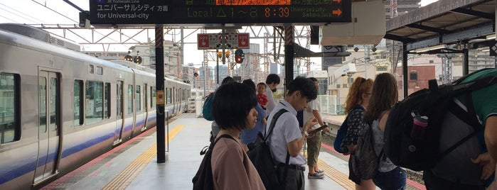 JR Nishikujō Station is one of Kyoto-Osaka 2019.