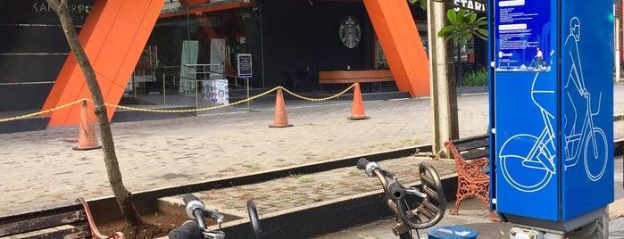 18. Boseh 18 Gedung Pos Jalan Riau is one of Bike On Street Everybody Happy (boseh).