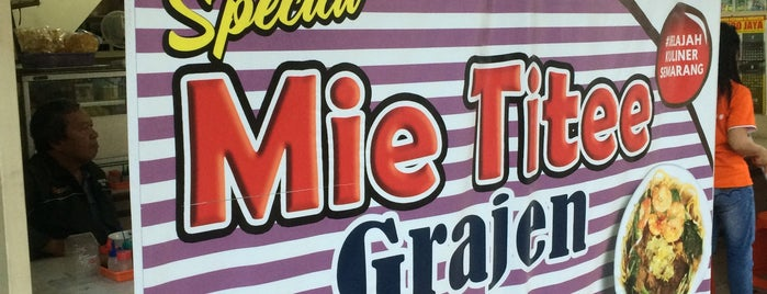 Mie Titee Grajen is one of Semarang Trips.