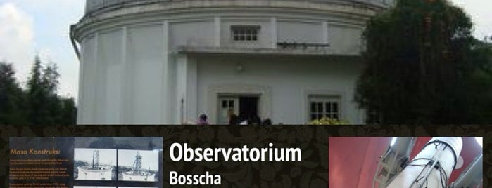 Observatorium Bosscha is one of My Hometown.