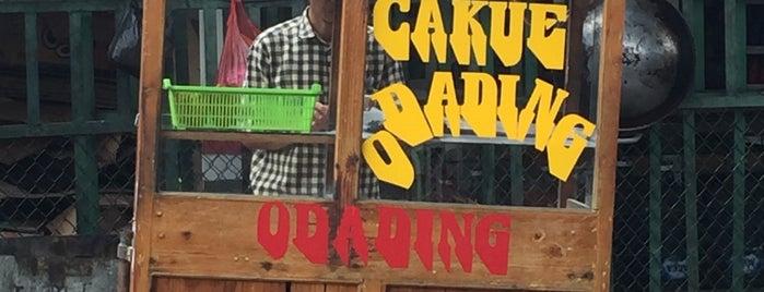 Cakue Dan Odading Pasantren is one of Cimohay spots.