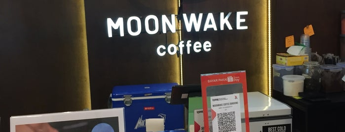 Moonwake Coffee is one of PANG ! PAgi NGopi Bandung.